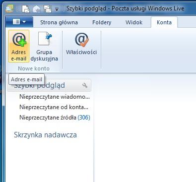 cea16ac54ec19 Konfiguracja Microsoft Windows Live™ Mail